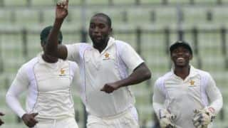 Live Cricket Score Bangladesh vs Zimbabwe, 2nd Test, Day 1 at Khulna: Bangladesh end at 193/3
